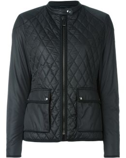Zipped Quilted Jacket