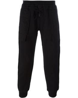 Patch Pockets Track Pants
