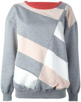 Diagonal Line Sweatshirt