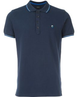 Contrasting Trim Polo Shirt