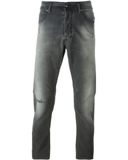 'carrot' Stretch Slim Jeans