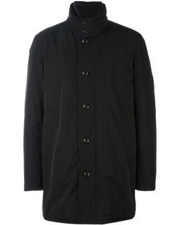 'fusain' Short Coat