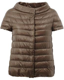 Wide Collar Puffer Jacket