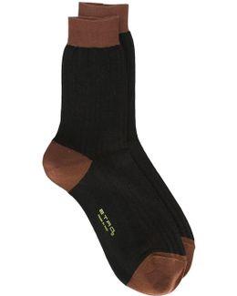 Bicolour Socks
