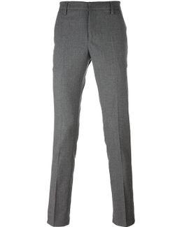 - 'gaubert' Trousers - Men - Cotton/spandex/elastane/virgin Wool - 31