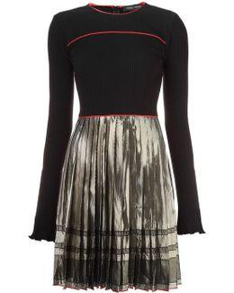 'alma' Pleated Dress