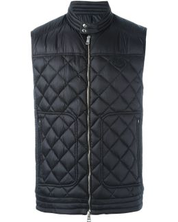 'rod' Quilted Gilet