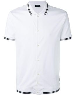 Stripe-detail Polo Shirt