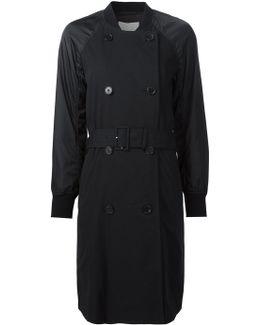 Bomber Sleeve Trench Coat