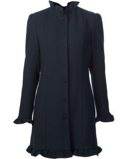 Frill Trim Coat