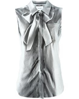 Trompe-l'oeil Sleeveless Shirt