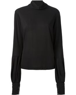 Roll-neck Blouse