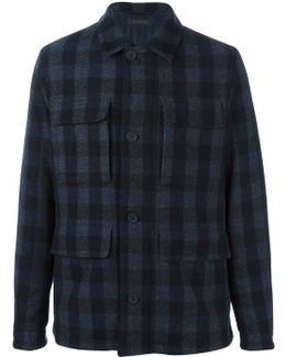Tartan Shirt-style Coat