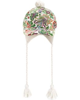 Floral Tapestry Baseball Cap