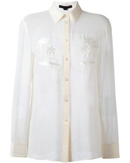 Palm Embroidered Shirt