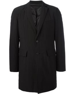 Single Breasted Midi Coat