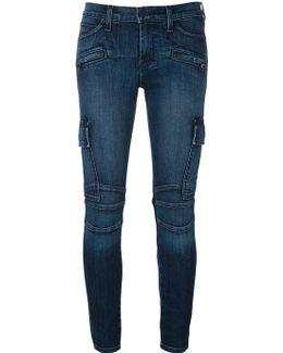 'colby' Biker Style Skinny Jeans
