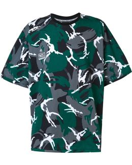 - Camouflage Oversized T-shirt - Men - Cotton - S