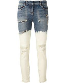 Dip-dye Skinny Jeans