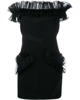 'hotfix' Fitted Dress