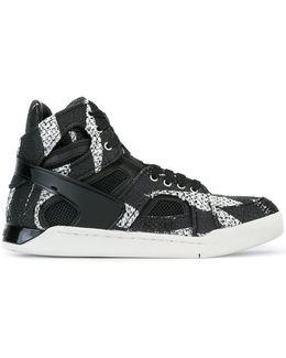 'Titan' High-Top Sneakers