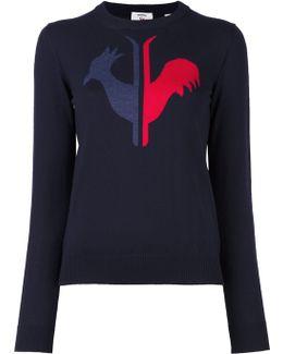 'w Alya Round Neck' Sweater