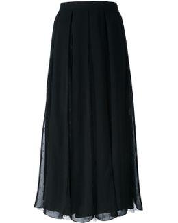 Box Pleated Skirt