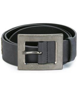Sicilian Man Patch Belt