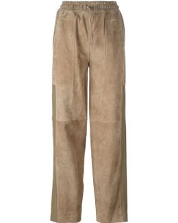 Relaxed Fit Straight Trousers