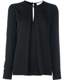 Inverted Pleat Blouse