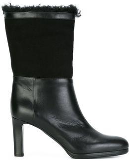 Mid-calf High Boots