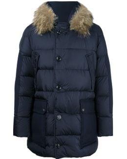 'gaze' Hooded Coat