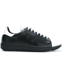 Monochrome Colour Block Sneakers