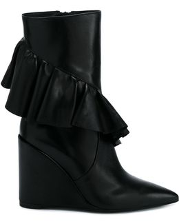 Frill Detail Boots