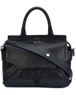 Flap Closure Tote Bag