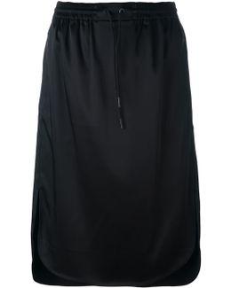 Straight Midi Skirt