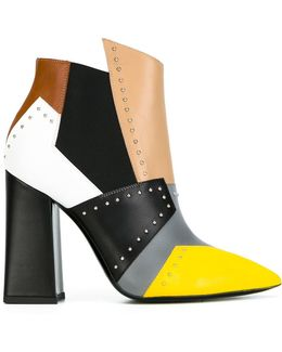 Colour Block Boots