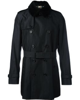 Shearling Collar Trench