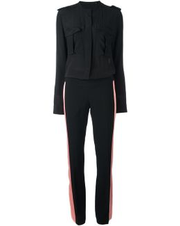 Lateral Stripes Jumpsuit