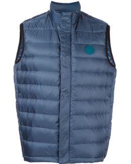 Zip Up Quilted Vest