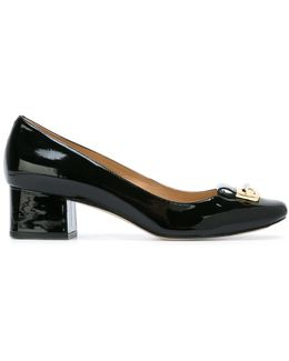 'gloria' Square Toe Pump