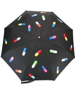 Pill Print Umbrella