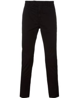 Stretch 'gabardine' Chinos
