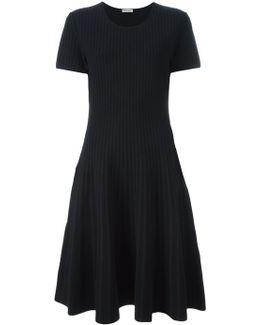 Striped Faded Effect Dress