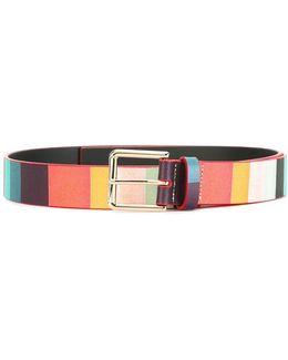 'artist Stripe' Belt