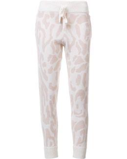 Leopard Print Sweatpants