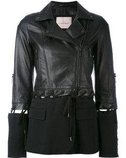 Fabric Panel Jacket