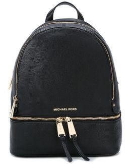Gold-tone Hardware Backpack