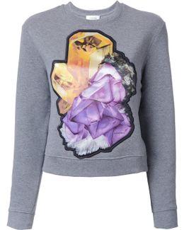 Crystal Motif Sweatshirt