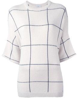 Striped Detailing Knit T-shirt